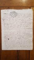 GENERALITE 1694 MOULINS 1 SOL 4 DENIERS - Matasellos Generales