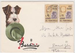 Cartolina - Barbisio - Ditta Natale De Blasi - Alcamo (Trapani) - Pubblicitari
