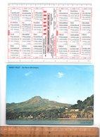 Calendrier Plastifié Format 19x13 : Martinique Mont Pelé Saint St Pierre / 1978 Ameublement LA RUCHE Fort De France - Calendars