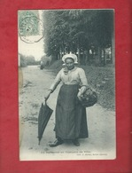 CPA -  La Sarthoise En Costumes De Ville  -( Sarthe ) - Francia