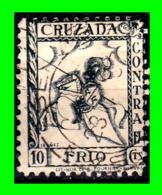 ESPAÑA  SELLO AÑO 1936 CUZADA CONTRA EL FRIO - Impuestos De Guerra