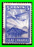 ESPAÑA  SELLO DE 5 Ctm. ((  ISLA CANARIAS  )) GUERRA CIVIL AZUL - Impuestos De Guerra