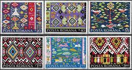 1975 - ROMANIAN TRADITIONAL CARPETS - Ungebraucht