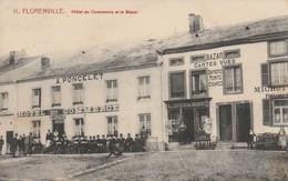 1-6---florenville Hotel Du Commerce Et Le Bazar--voir Recto Verso-----livraison Gratuite - Florenville