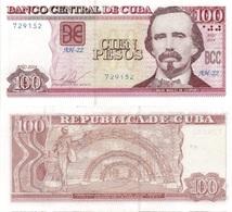 CUBA 100 Pesos P 129 F 2014 UNC - Cuba