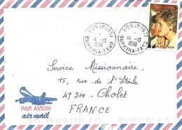 Lettre Du Burkina Faso - Burkina Faso (1984-...)