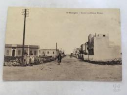 CPA - MAROC - MAZAGAN - 19 - Boulevard Isaac Hamu - Autres
