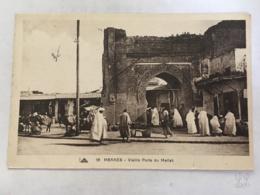 CPA - MAROC - MEKNES - 18 - Vieille Porte Du Mellah - Meknès