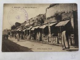 CPA - MAROC - MEKNES - 8 - La Rue Des Bijoutiers - Meknès