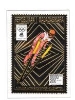 Madagascar 1994 Lillehammer Olympic Games Gold Stamp MNH/** (H30) - Winter 1994: Lillehammer