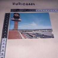 C-89828 FIUMICINO AEROPORTO INTERCONTINENTALE DI ROMA LEONARDO DA VINCI PANORAMA - Fiumicino