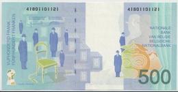 BELGIUM P. 149 500 F 1998 AUNC - [ 2] 1831-... : Reino De Bélgica