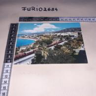 C-89862 REGGIO CALABRIA PANORAMA LUNGOMARE FERROVIA STAZIONE TRENO - Reggio Calabria