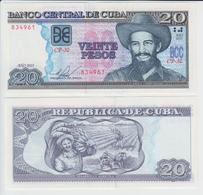 CUBA 20 Pesos P 122 J 2015 UNC - Cuba