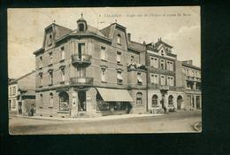 AK Talange, Angle Rue De L`Usine Et Route De Metz, Gelaufen 1930 - Talange
