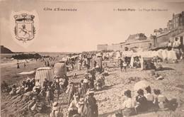 CPA FRANCE - 35 - Saint Malo - La Plage Bon-secours - Saint Malo