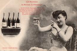 LES BUVEUSES - La Buveuse De Champagne - - France