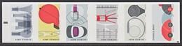 SVEZIA 2005 DESIGN  UNIFICATO N.2429/34 BOOKLET AUTOADESIVI  L2429  MNH - Sweden