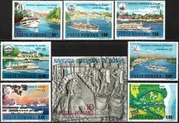 1977 - SHIPS - EUROPEAN NAVIGATION ON THE DANUBE - Ungebraucht