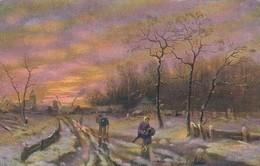 AK Dorf Im Winter - Landschaft Bauern - Ca. 1910  (48890) - Illustrators & Photographers