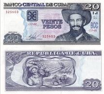CUBA 20 Pesos P 122 J 2014 UNC - Cuba