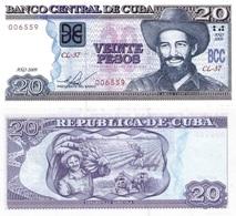 CUBA 20 Pesos P 122 F 2009 UNC - Cuba
