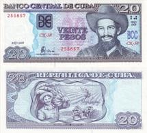 CUBA 20 Pesos P 122 E 2008 UNC - Cuba