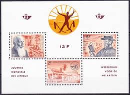 20-014 Belgique 1964 Journee Mondialen Des Lepreux Mi MS 29 MNH ** - Ongebruikt