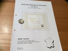 Etiquette De Vin 1999 «CÔTES-DU-RHÔNE VILLAGES - CAIRANNE - ANTIQUE Senimaros - Cave De Cairanne (84)» - Côtes Du Rhône