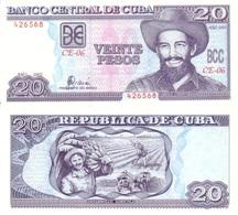 CUBA 20 Pesos P 118 D 2002 UNC - Cuba