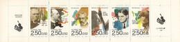 FRANCE 1992 CARNET BC 2753 CARNETS PERSONNAGES CELEBRES MUSICIENS FRANK SCHMITT HONEGGER AURIE TAILLEFERRE - Personen