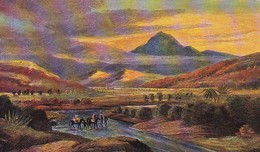 AK Afrikanische Landschaft - Afrika - Fluss Furt Pferde Eingeborene - Künstlerkarte Fuhrmann - Ca. 1910 (48891) - Altre Illustrazioni