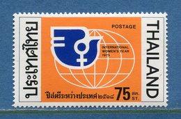 Thaïlande - YT N° 772 - Neuf Avec Charnière - 1975 - Tailandia