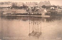 CPA FRANCE - 35 - Saint Malo - Le Pont Roulant à Marée Basse - Saint Malo