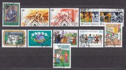 UNO WIEN  68-78, Gestempelt, Jahrgang 1987 Komplett - Oblitérés