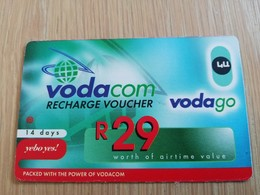 SOUTH AFRIKA  110 R   RECHARGE VOUCHER      1CARD Used **1326** - Südafrika