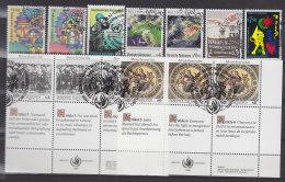 UNO WIEN  89-97, Gestempelt, Jahrgang 1989 Komplett - Oblitérés