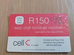 SOUTH AFRIKA  150 R   RECHARGE VOUCHER      1CARD Used **1328** - Südafrika