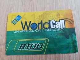 SOUTH AFRIKA  100 R   RECHARGE VOUCHER      1CARD Used **1330** - Südafrika