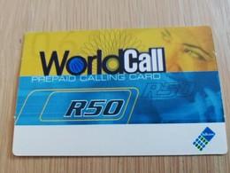 SOUTH AFRIKA  50 R   RECHARGE VOUCHER      1CARD Used **1332** - Südafrika