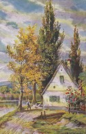AK Fuhrmann - Dorfidylle - Bauer Mit Gänsen - 1916 (48898) - Altre Illustrazioni