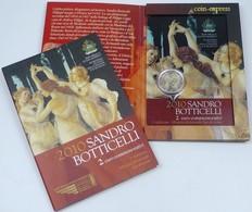 ►NEUF ! RARE 2 EUROS COMMEMORATIVE SAINT MARIN 2010 BOTTICELLI 100 000 EX ! RARE PRO !◄◄ - San Marino