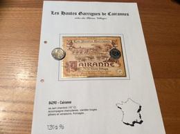 Etiquette Vin 1999 «CÔTES-DU-RHÔNE VILLAGES - CAIRANNE - Les Hautes Garrigues - SCA LES COTEAUX - Cairanne (84)» - Côtes Du Rhône