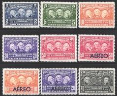 Ecuador, 1936 Yvert Nº 340 / 344, Aéreo Nº 41 / 44,  MH - Equateur