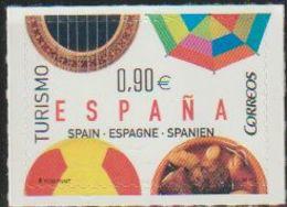 España 2015 Edifil 4928 Sello ** Turismo Guitarra, Sombrilla, Futbol Y Fabada 0,90€ Spain Stamps Timbre Espagne Briefmar - 1931-Today: 2nd Rep - ... Juan Carlos I