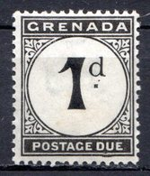 GRENADE - (Colonie Britannique) - 1921-23 - TAXE - N° 11 - 1.p. Noir - (Légende : POSTAGE DUE) - Central America