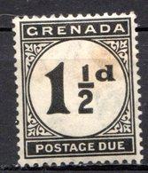 GRENADE - (Colonie Britannique) - 1921-23 - TAXE - N° 12 - 1 1/2 P. Noir - (Légende : POSTAGE DUE) - Central America