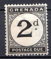 GRENADE - (Colonie Britannique) - 1921-23 - TAXE - N° 13 - 2 P. Noir - (Légende : POSTAGE DUE) - Central America