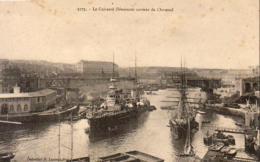 Marine Militaire Française- Le Cuirassé Démocratie Sortant De L' Arsenal  ... - Guerre