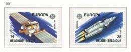 [153100]TB//**/Mnh-N° 2406/07, EUROPA-CEPT 1991, Télécommunications, Espace, SC, SNC - Ungebraucht